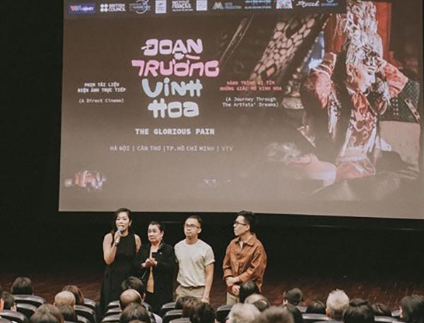 Đoạn Trường Vinh Hoa lấy đi nước mắt của khán giả trong ngày công chiếu tại Hà Nội