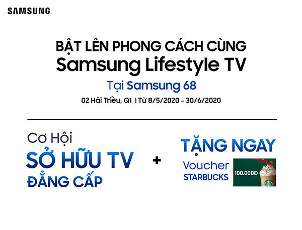 Bật lên phong cách cùng Samsung Lifestyle TV