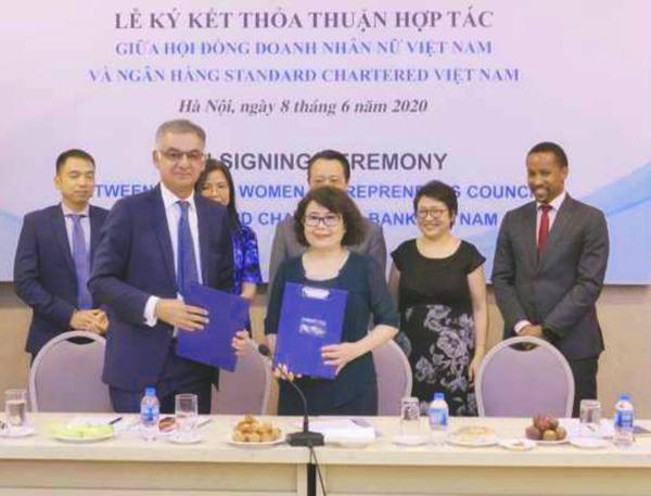 Ngân hàng Standard Chartered Việt Nam sẽ hỗ trợ tài chính cho các doanh nghiệp do phụ nữ làm chủ