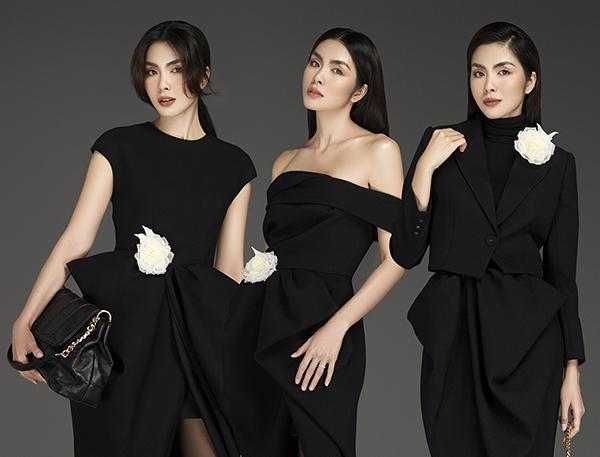 Tăng Thanh Hà cuốn hút với loạt trang phục đen sang trọng của SIXDO