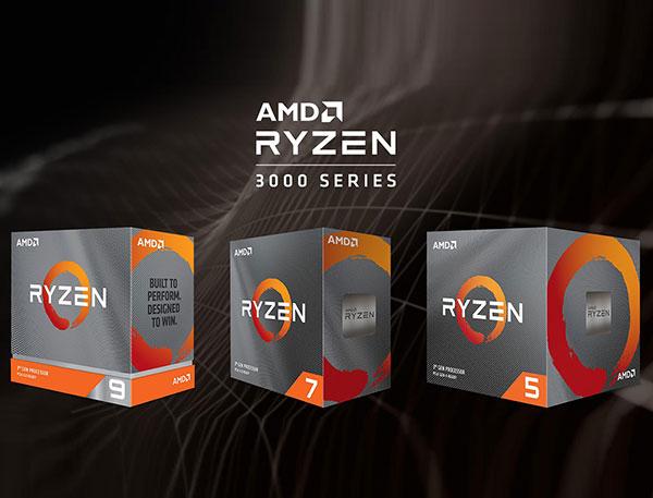 AMD Ryzen 3000 series thêm 3 lựa chọn mới