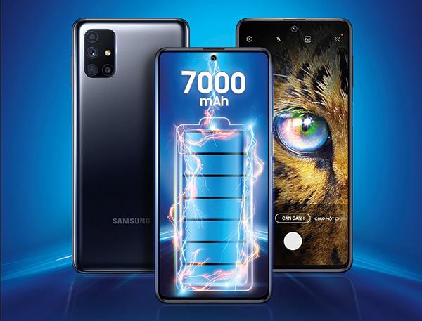 Samsung mở bán smartphone Galaxy M51 sở hữu pin siêu khủng 7000mAh