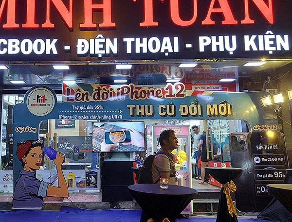 Minh Tuấn Mobile chính thức mở bán iPhone 12 VN/A