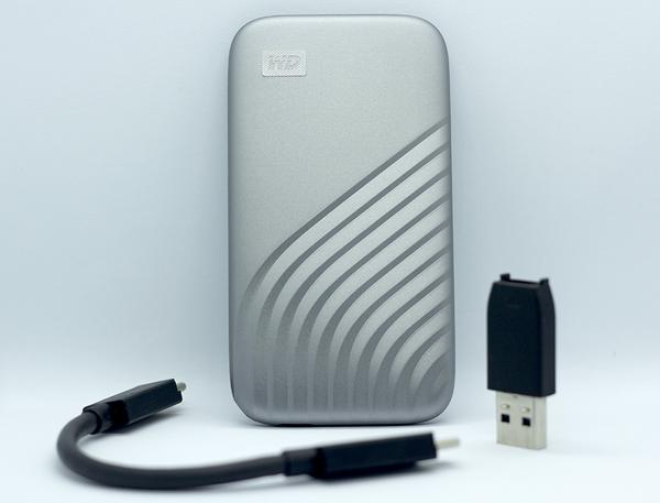 WD My Passport SSD: nhỏ xinh, sao chép dữ liệu nhanh