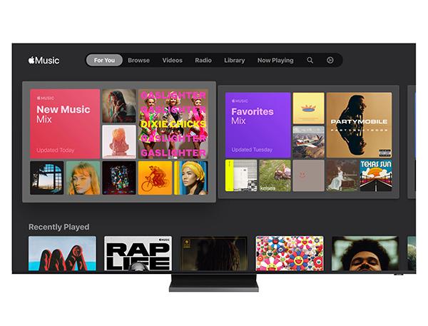 Smart TV Samsung có thể tải và cài đặt Apple Music
