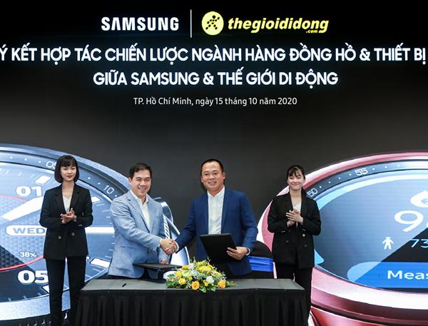 Samsung bán độc quyền Galaxy Watch 3 trên hệ thống Thế Giới Di Động