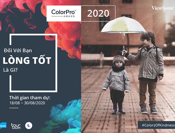 ViewSonic khởi tranh cuộc thi ảnh quốc tế ColorPro Award 2020