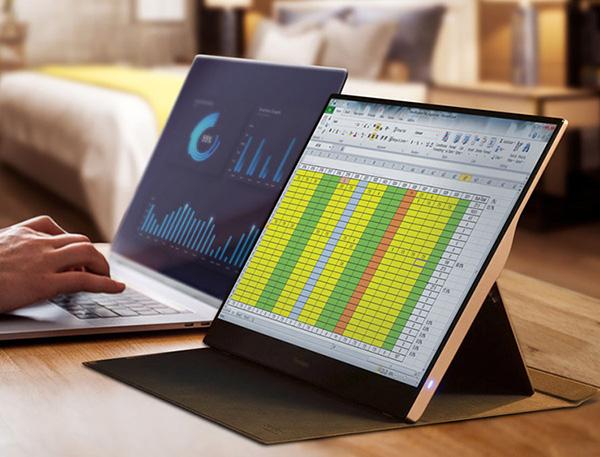 Làm việc và giải trí thoải mái hơn với màn hình di động ViewSonic