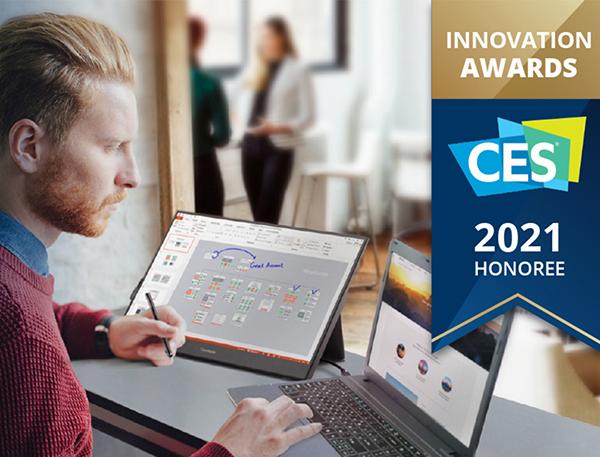 [CES 2021] ViewSonic giành giải thưởng sáng tạo với màn hình cảm ứng di động