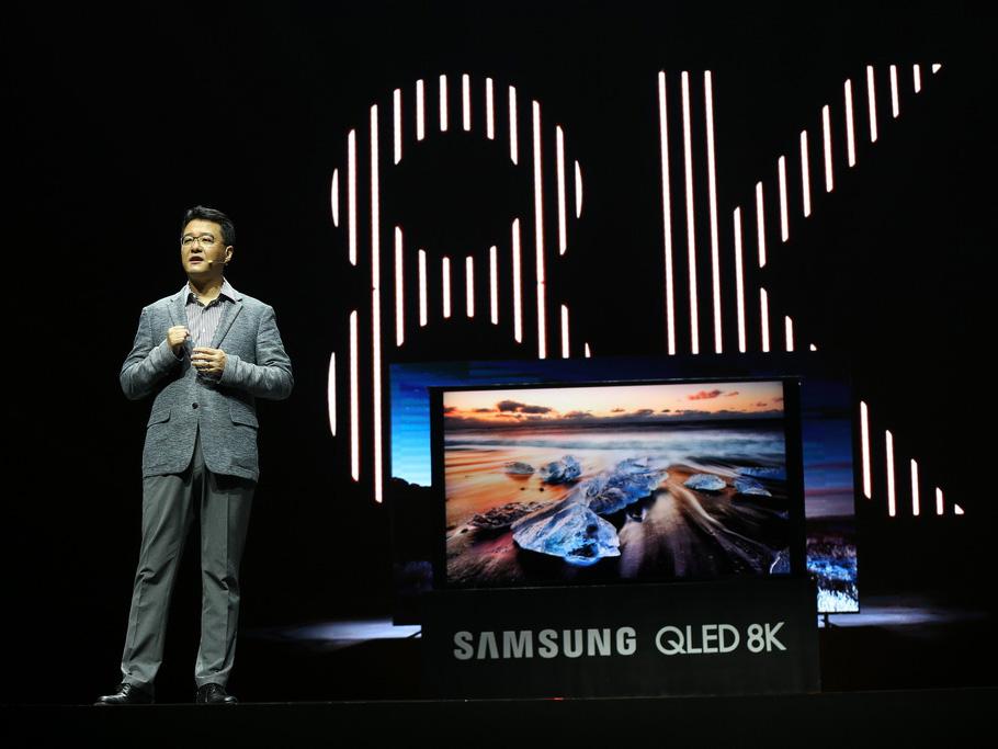 Samsung QLED 8K ra mắt ấn tượng