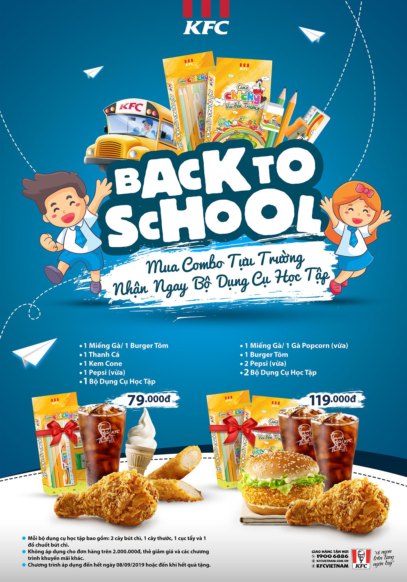 Cùng KFC Vui Đến Trường!!!