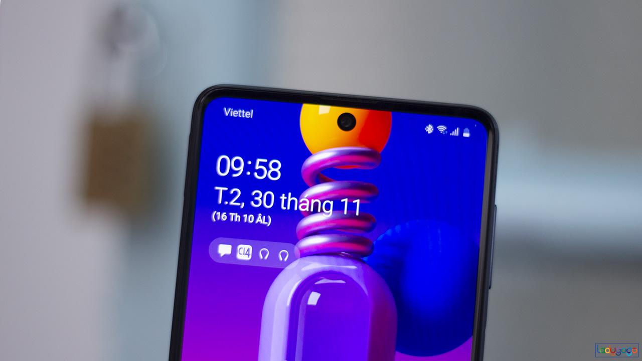 Samsung Galaxy M51: 5 ngày sử dụng chỉ với 1,5 giờ sạc