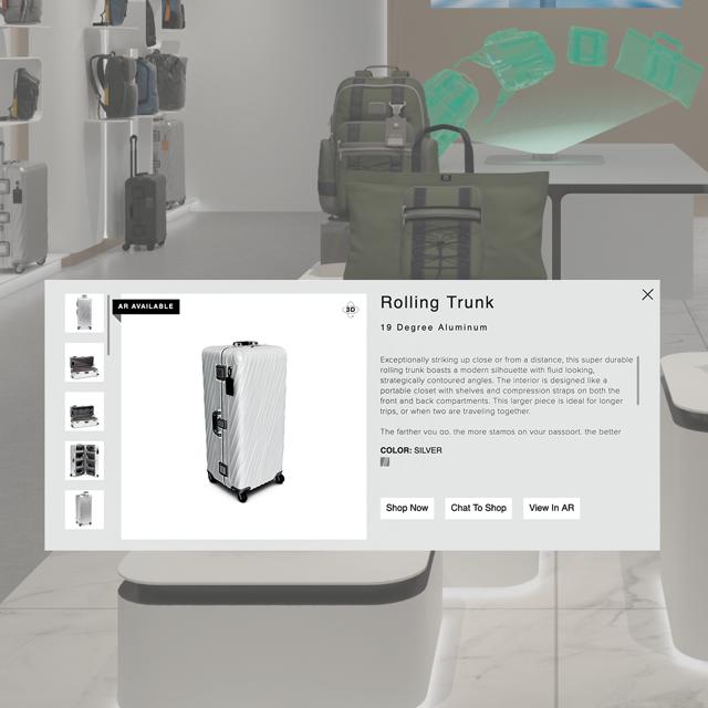 TUMI dẫn đầu phong trào đổi mới về phong cách du lịch nhờ ra mắt cửa hàng trải nghiệm trực tuyến đầu tiên