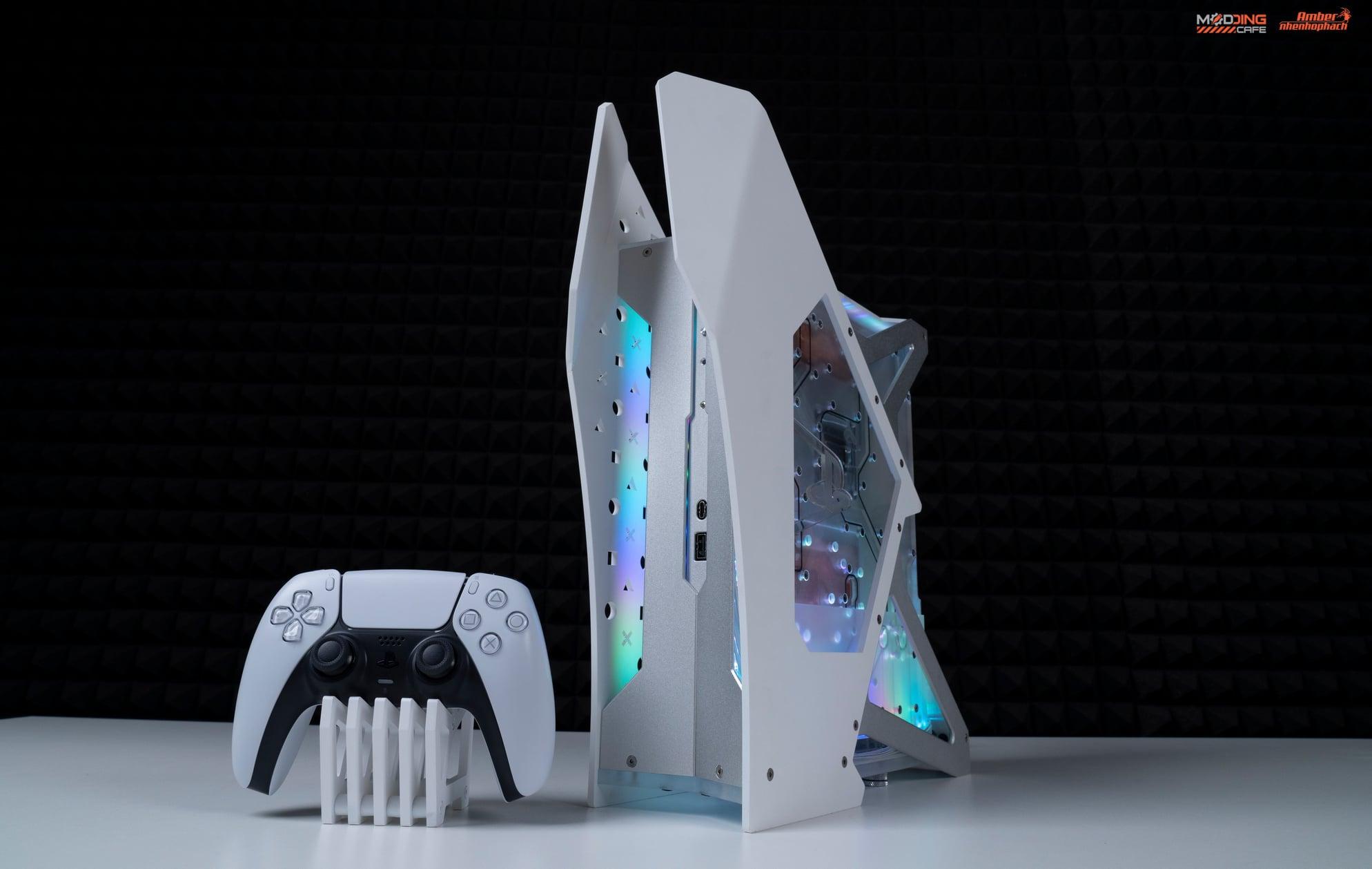 Độc đáo PS5 với tản nhiệt nước của Nhenhophach