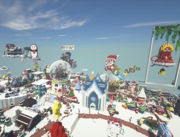 Chơi game Minecraft thú vị hơn cùng Ray-tracing và card đồ họa Geforce RTX của COLORFUL