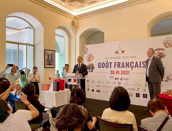 Tổng lãnh sự quán Pháp tại Tp.HCM giới thiệu chứng nhận Goût Français