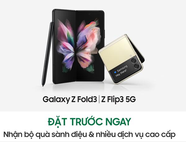 Samsung Việt Nam mở bán Galaxy Z Fold3 5G và Z Flip3 5G kèm ưu đãi đặc quyền cao cấp