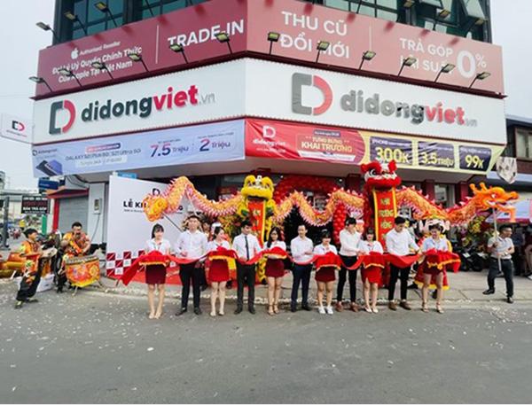 Hệ thống Di Động Việt khai trương cửa hàng thứ 17