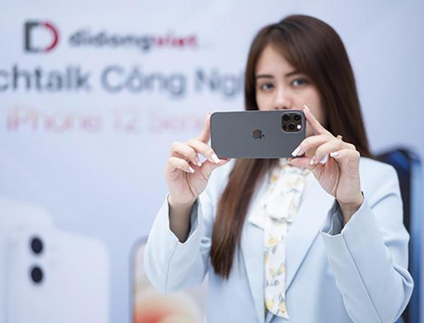 Di Động Việt lại giảm giá kịch sàn cho iPhone 12 Pro ngày giáp Tết Tân Sửu
