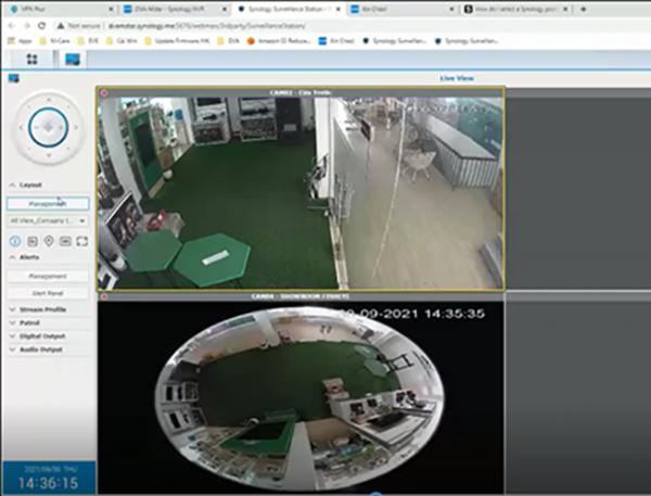Lưu trữ và xem camera trực tiếp từ giải pháp lưu trữ NAS