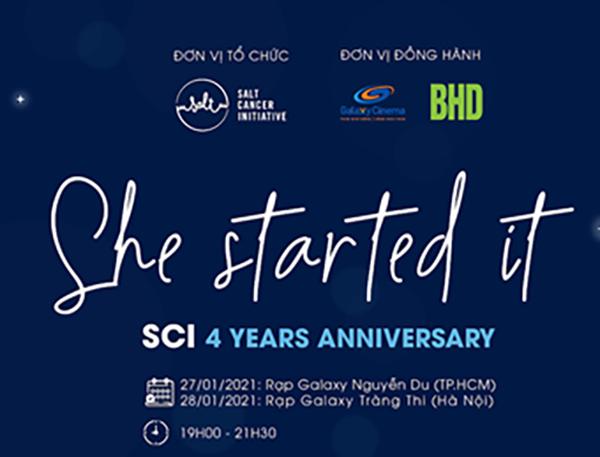 Salt Cancer initiative (SCI) kỷ niệm 4 năm thành lập