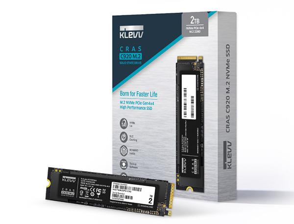 KLEVV ra mắt hai ổ cứng SSD M.2 PCIe mới