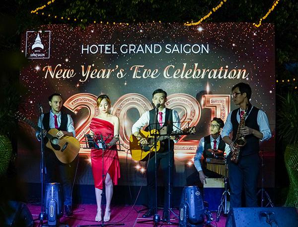 Chào đón Tết Nguyên Đán Tân Sửu tại KS Grand Saigon