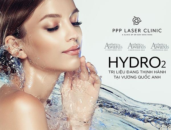 Trị liệu Hydro2 Facial đã có mặt tại PPP Laser Clinic