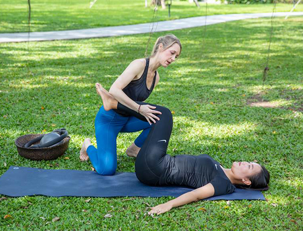 Azerai Cần Thơ giới thiệu chương trình Pilates nghỉ dưỡng mới