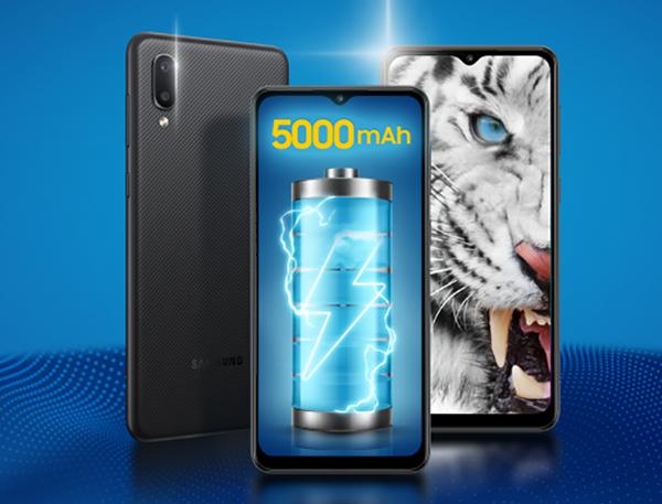 Samsung Galaxy M02: Giá phổ thông nhưng sở hữu pin 'khủng' và camera macro 2MP