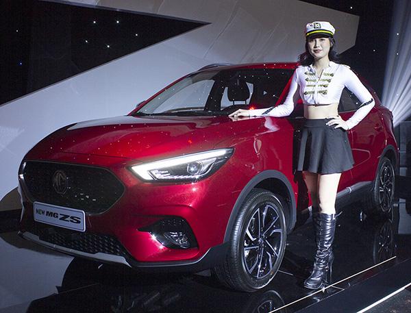 MG ZS 2021 nhập khẩu nguyên chiếc từ Thái Lan, giá từ 569 triệu đồng
