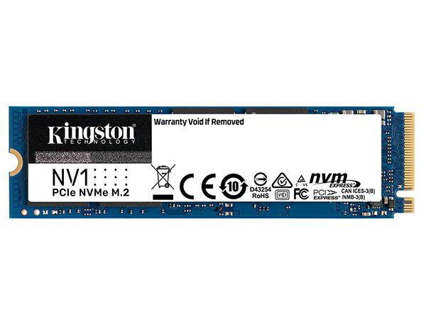 Kingston thêm lựa chọn ổ cứng SSD NVMe M.2 phổ thông