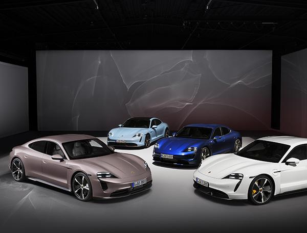 Ô tô điện Porsche Taycan có thêm phiên bản thứ 4