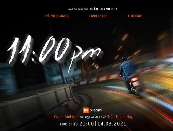 Phim ngắn '11:00 PM' của đạo diễn Trần Thanh Huy được quay bằng Mi 11