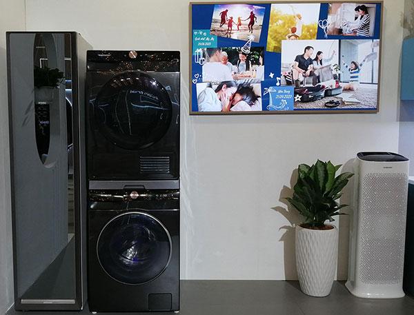 Máy giặt rồi cũng thông minh