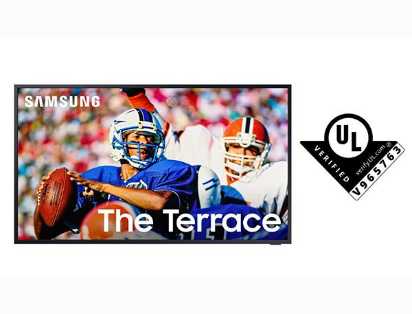 Samsung The Terrace đạt chứng nhận Hiệu suất Hiển thị ngời trời của UL