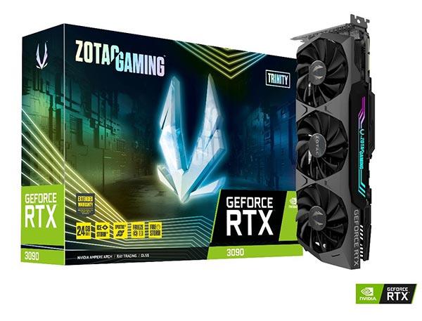 ZOTAC trình làng dòng card đồ họa Geforce RTX 30 series