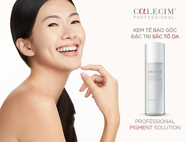 Calecim Professional Pigment Solution: Giải pháp Tế bào gốc đặc trị danh riêng cho sắc tố da