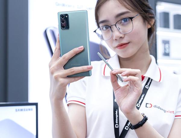 Samsung Galaxy Note 20/ Note 20 Ultra giá chỉ còn 14,9 triệu đồng