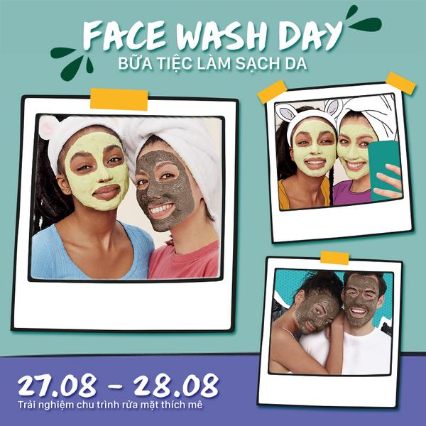 The Body Shop tổ chức Ngày Hội Rửa Mặt Dành Riêng Cho Học Sinh – Sinh Viên